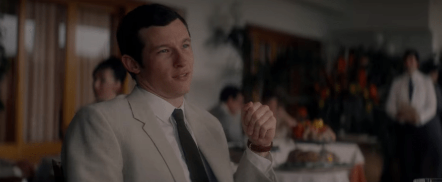 The Last Letter from Your Lover Cast - Callum Turner as Anthony O'Hare