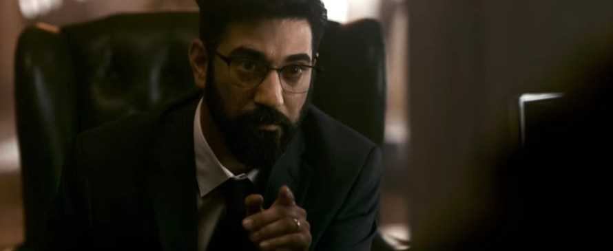 SAS: Rise of the Black Swan Cast - Ray Panthaki as Prime Minister Atwood
