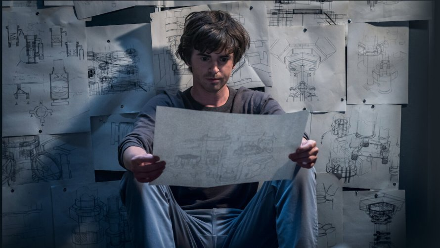 The Vault Cast - Freddie Highmore as Thom