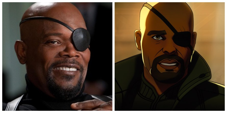 What If Voice Cast - Samuel L. Jackson as Nicky Fury