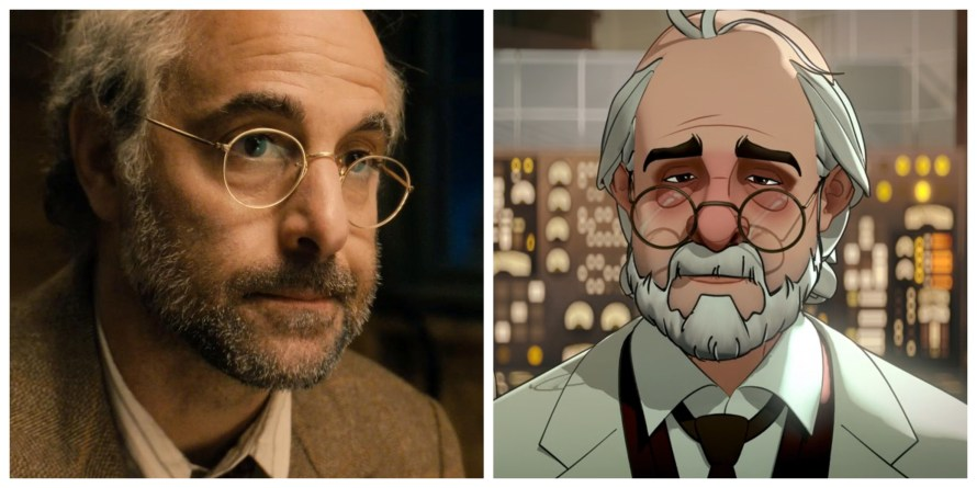 What If Voice Cast - Stanley Tucci as Dr. Erskine
