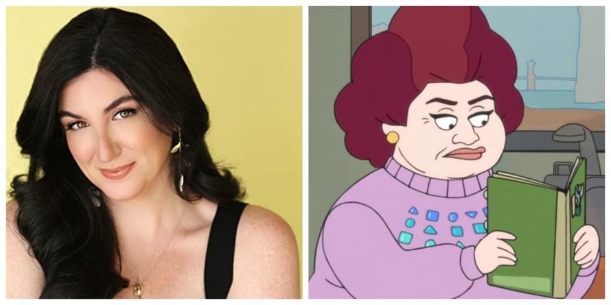 Chicago Party Aunt Voice Cast - Katie Rich as Zuzana