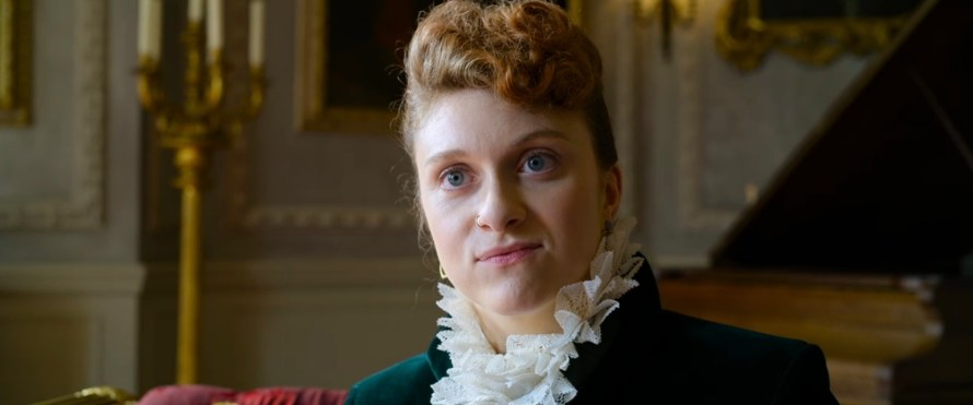 Cinderella Cast 2021 on Amazon Prime - Mary Higgins as Princess Laura
