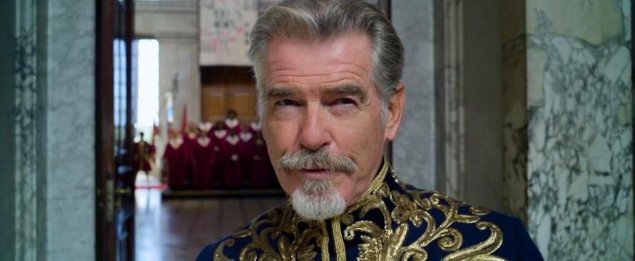 Cinderella Cast 2021 on Amazon Prime - Pierce Brosnan as King Rowan