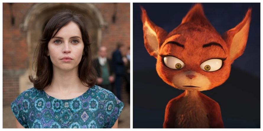 Firedrake the Silver Dragon Voice Cast - Felicity Jones as Sorrell
