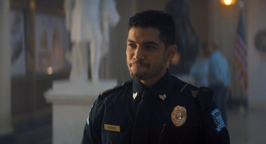 The Lost Symbol Cast - Rick Gonzalez as Nunez