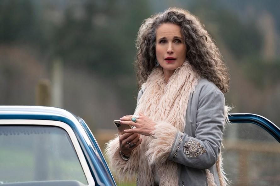 Maid Cast - Andie MacDowell as Paula