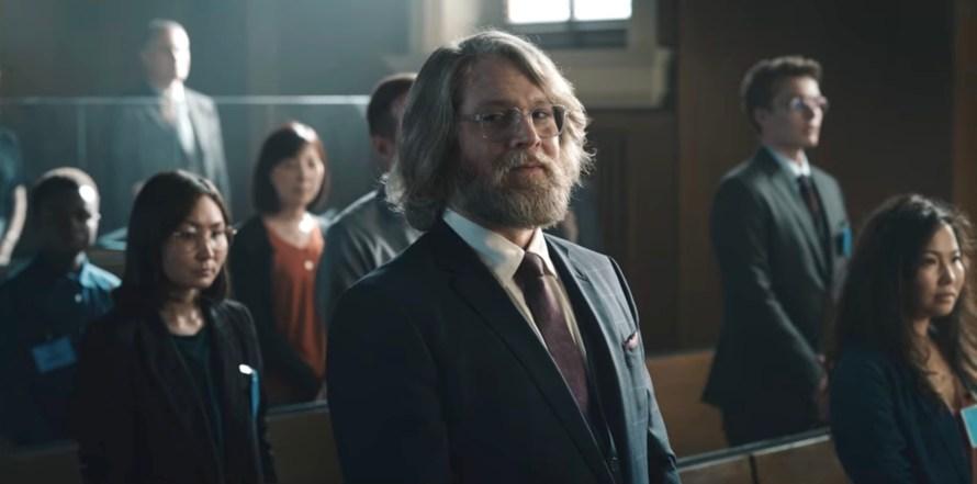 The Billion Dollar Code Cast - Lukas Loughran as Brian Anderson