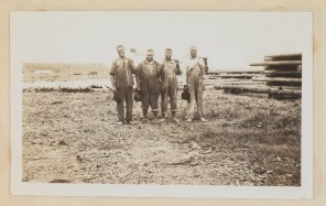 African American laborers made up a large portion of the workforce at each of Conger's treatment plants.