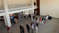 After Banner Lectures, the new space has more room for book signings.