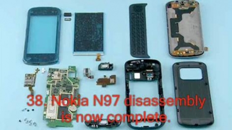 How To: Disassemble A Nokia N97!