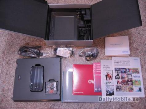 Nokia N86 Unboxing Pictures