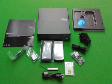 Nokia N97 Unboxing Pictures