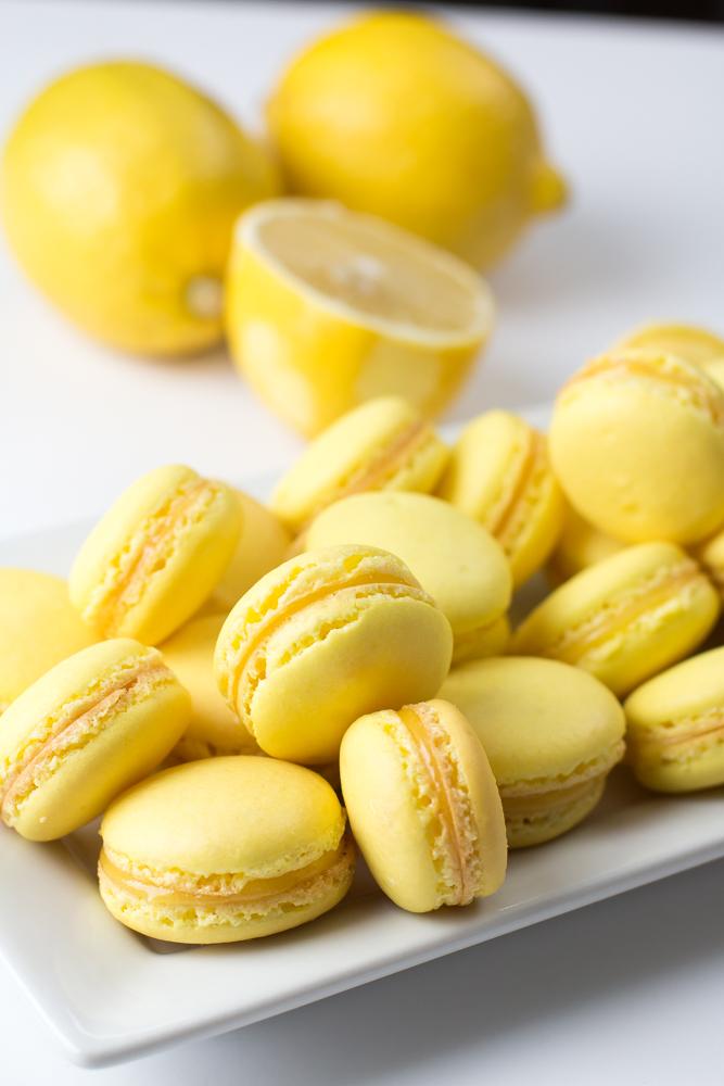 Macaron de Limão