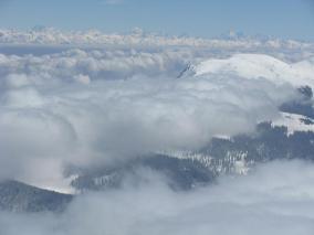 clouds at kashmir