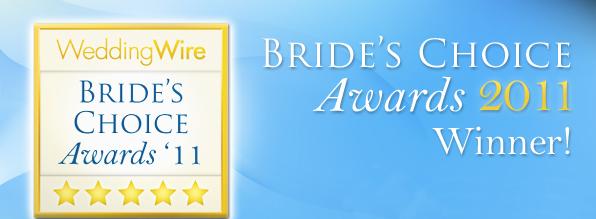 Fucci's Photos awarded 2011 Bride's Choice Award™  by WeddingWire.com