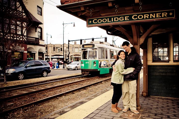 Coolidge Corner Vail Fucci Fucci's Photos Ali Andrew Engagement