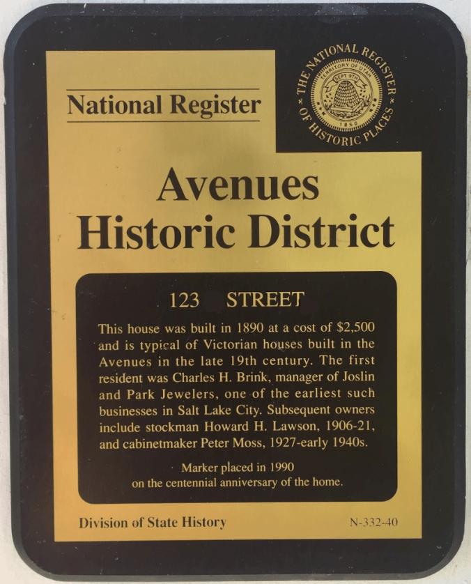 national register historic plate
