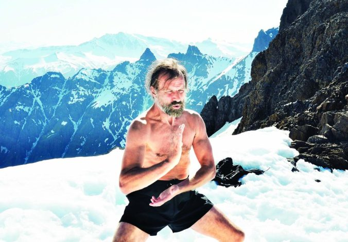 Wim Hof in the Himalayas
