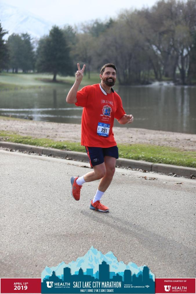 Vaillant running a marathon