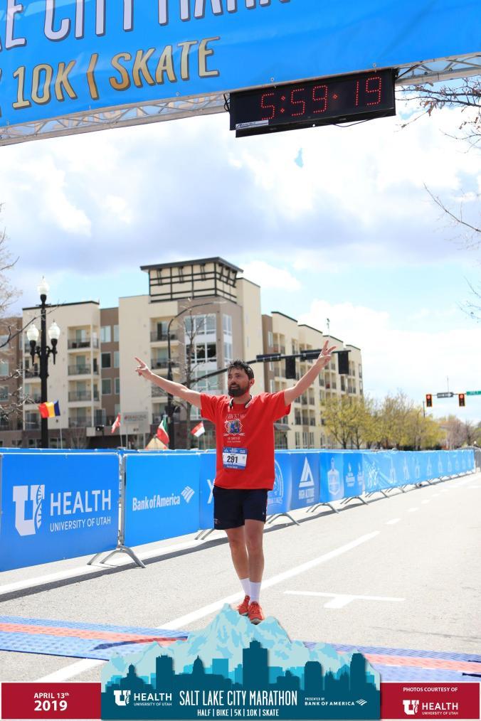 Vaillant completes a full marathon