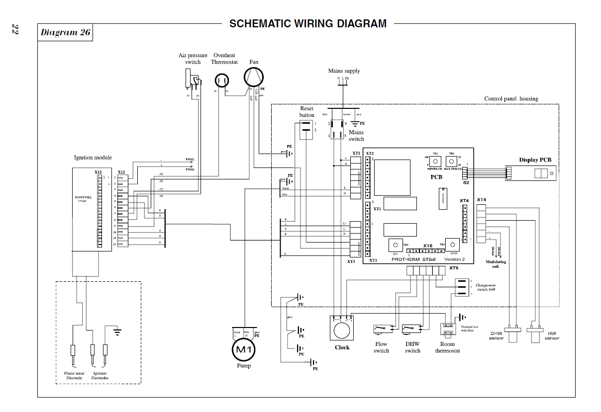 Vaillant Boiler Wiring Diagram