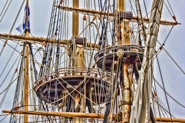 Crow's Nest of Kalmar Nyckel