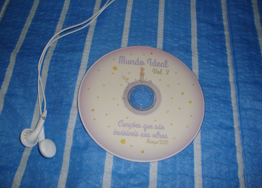CD do Pequeno Príncipe - DIY