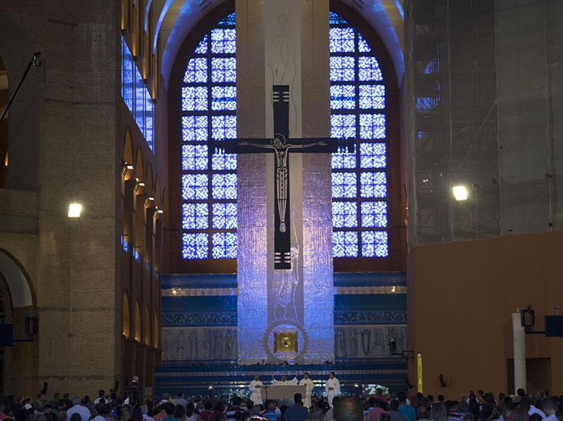 Missa na Basílica de Aparecida - São Paulo