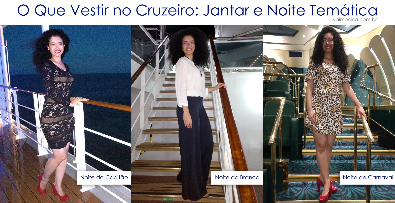 Looks no Navio - O que Vestir no Cruzeiro