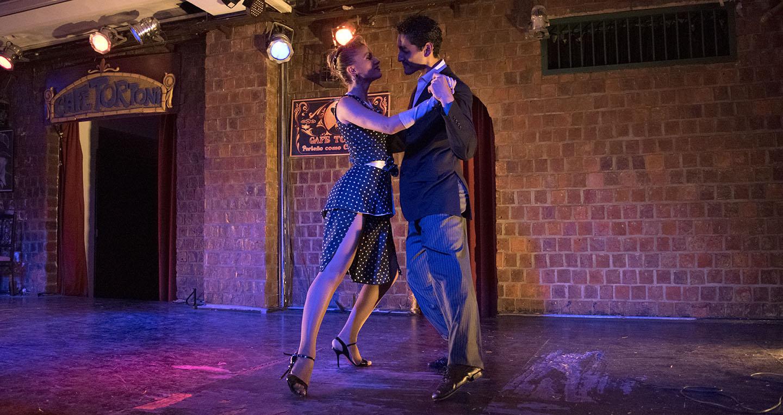 Tango Barato em Buenos Aires - Café Tortoni