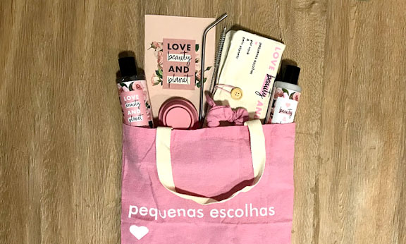 Pequenas Escolhas - Consumo Consciente Love Beauty and Planet