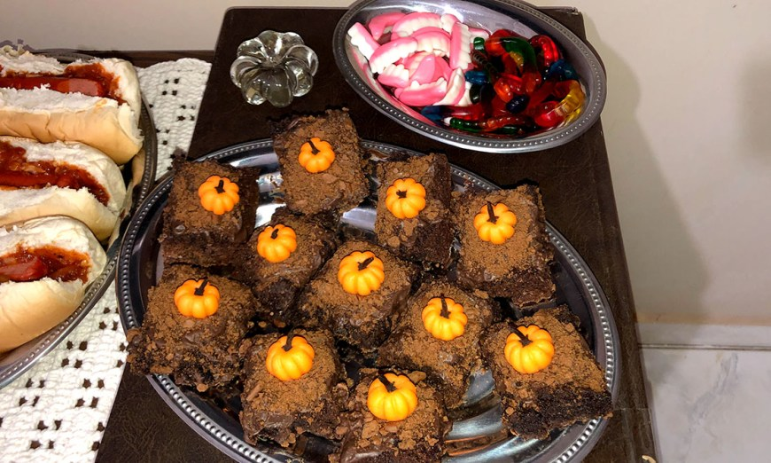 comidas de halloween doces faceis