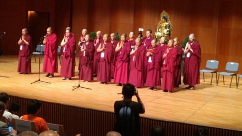 opening chants - Mongolians