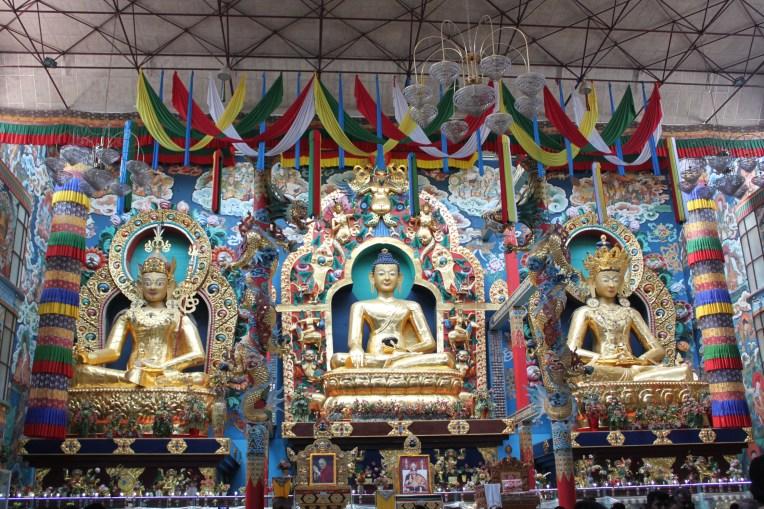 Padmasmbhava, the Buddha and Amitayus