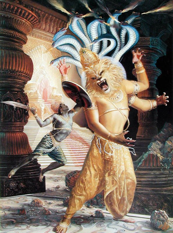 Who Is Lord Narashimhadeva