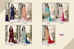 avon-aarohi-vol.-13-georgette-fabric-plazzo-bottom-salwar-kameez-6