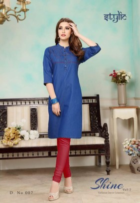 shine-vol.-2-denim-fabric-stylish-party-wea-casual-kurtis-wholesalers-manufacturers-6