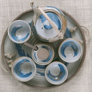 Juego de té inspiración oriental