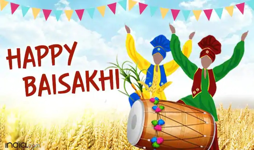 The Baisakhi Festival Is Being Celebrated With Traditional Enthusiasm In The Northern Part Of The Country Today