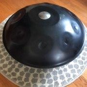 Ваджрафон хэндпан (ханг) с серебряным дингом