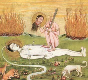 Чиннамаста божество тантрическое