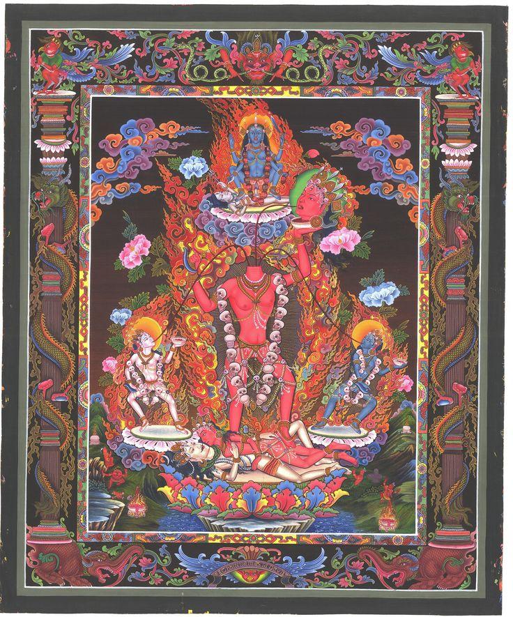 Ваджраяна заимствовала тантру из индуизма