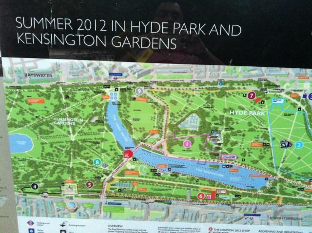 a walk @ Hydepark