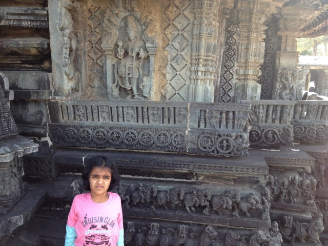 lovely rock cut temples