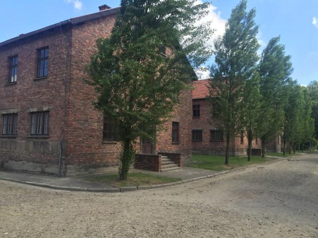 aushwitz building