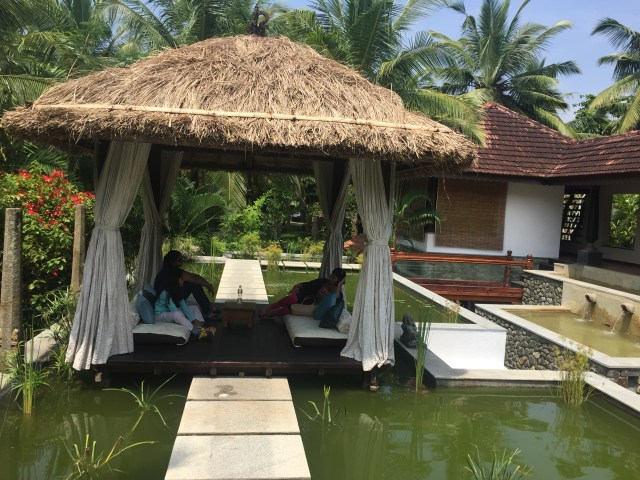 Niraamaya yoga retreat centre was recently rated the best in the country.