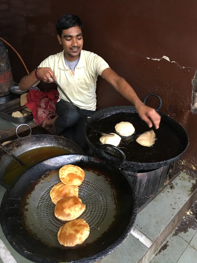 Jalebis and Kachoris