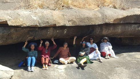 Fort of rock in Mandagiri