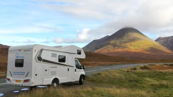 camper, Schotland, rondreis, camper huren